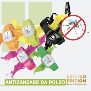 Bracciale antizanzare colorato