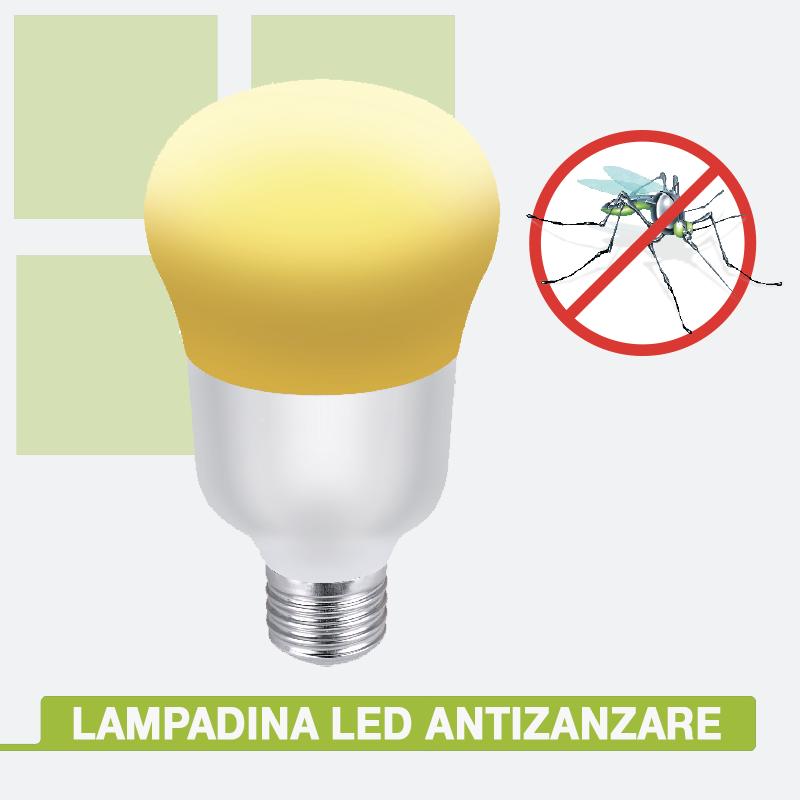 lampadina antizanzare