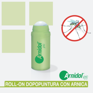 Dopo puntura roll on con arnica
