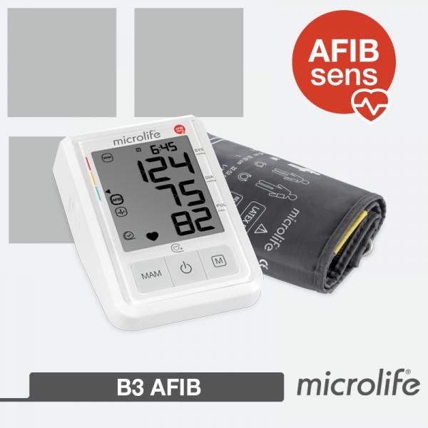 misuratore di pressione con rilevazione di fibrillazione atriale