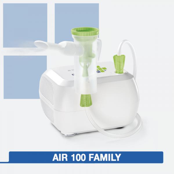 sistema per aerosolterapia ad aria compressa
